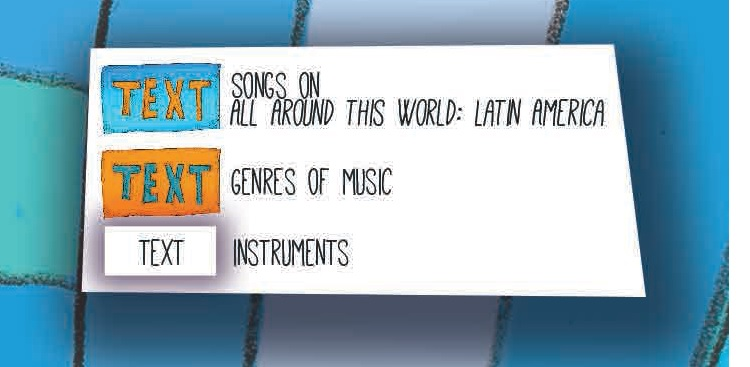 AATW--Latin America musical map key