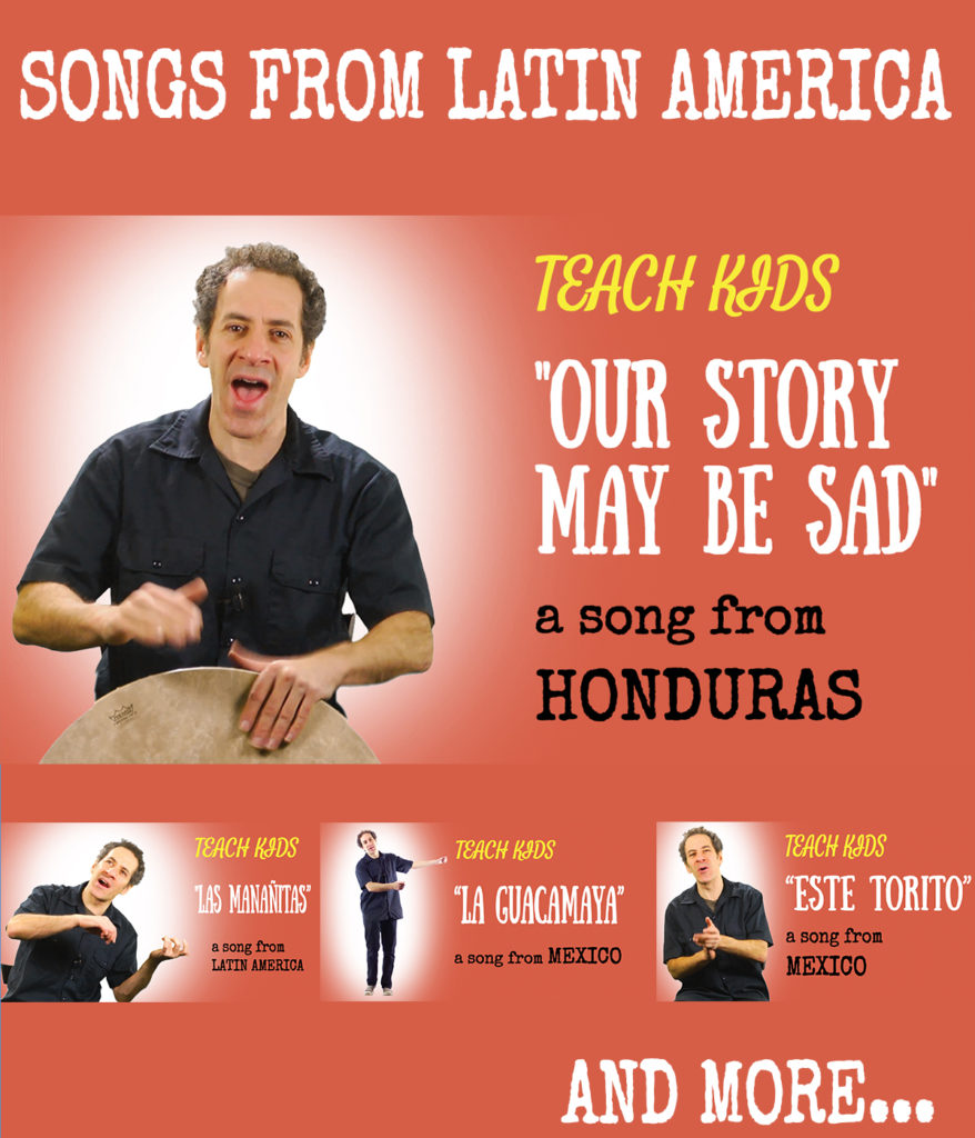 Latin America for kids -- All Around This World's Latin American songs