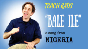 West African Drum Song -- Let's Sing Bale Ile -- All Around This World
