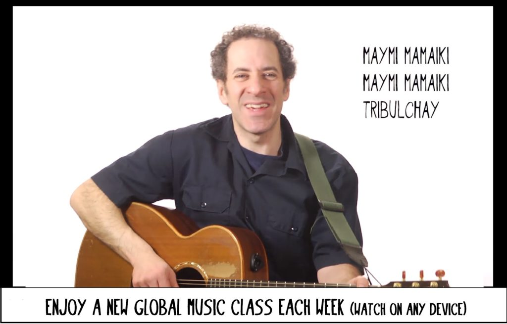 Take a new global music class each week -- Come to class with Jay