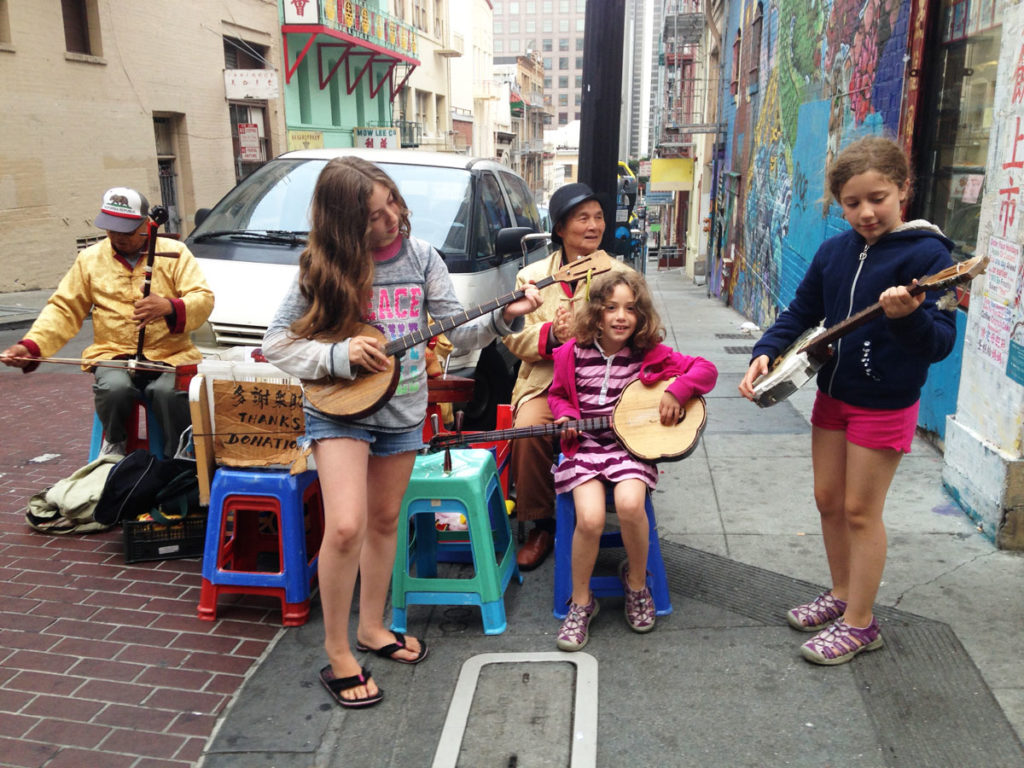 All Around This World Summer Tour 2016 -- In San Francisco's Chinatown