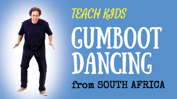 South Africa for Kids -- Gumboot Dancing -- All Around This World