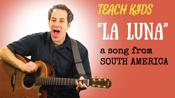 Spanish song about the moon -- What you teach your kids MATTERS