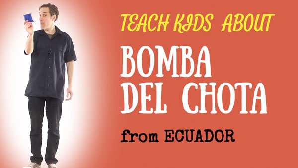 Ecuador for Kids -- Bomba Del Chota -- All Around This World