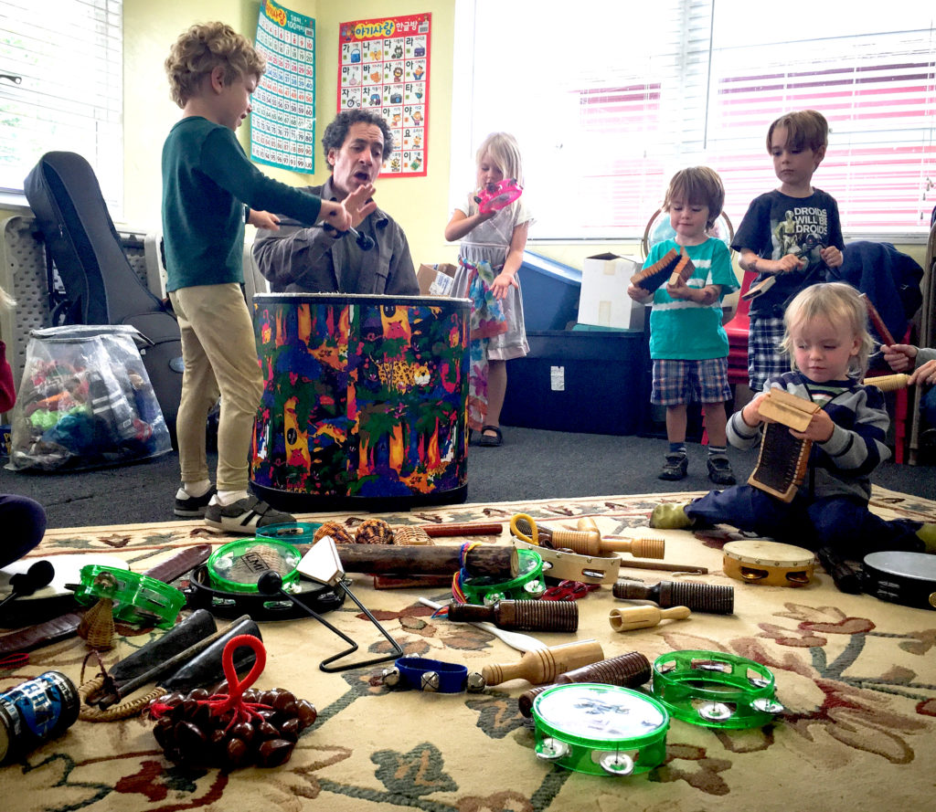 All Around This World in Santa Cruz -- Homeschool music class