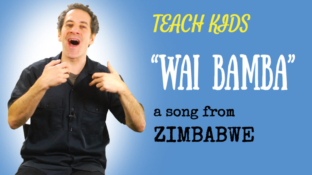 Zimbabwean Wedding Song -- Let's Sing Wai Bamba -- All Around This World