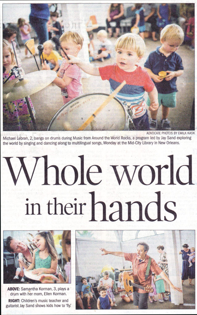 2018-07-30 All Around This World in New Orleans Advocate