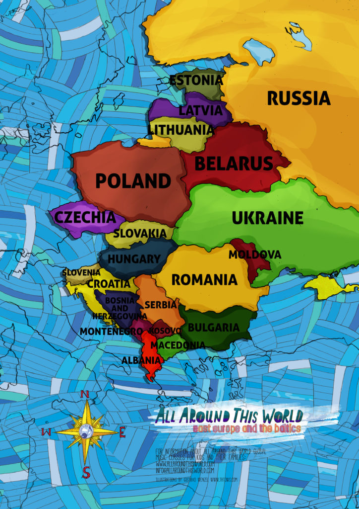 All Around This World Eastern Europe
