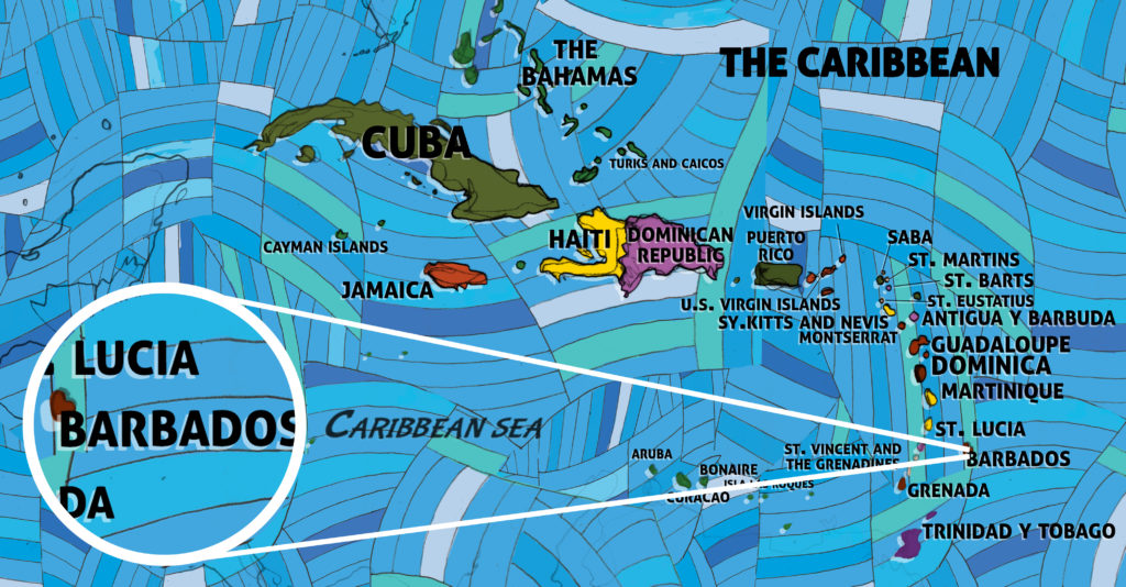 All Around This World -- The Caribbean featuring Barbados